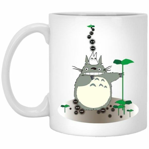 Totoro and the Sootballs Mug