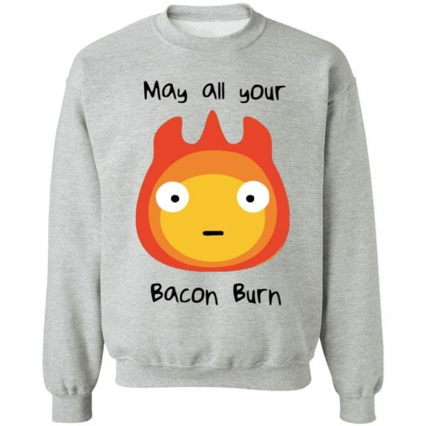Howl's Moving Castle – May All Your Bacon Burn Sweatshirt