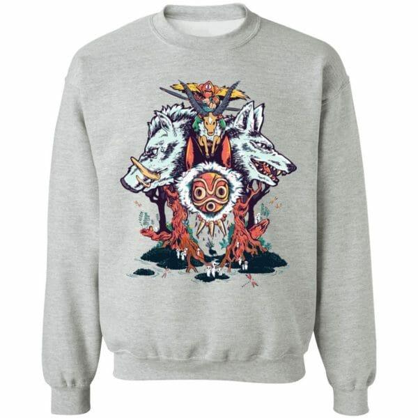 Princess Mononoke Characters Sweatshirt
