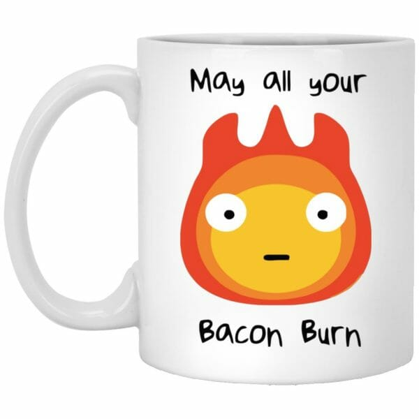 Howl's Moving Castle – May All Your Bacon Burn Mug