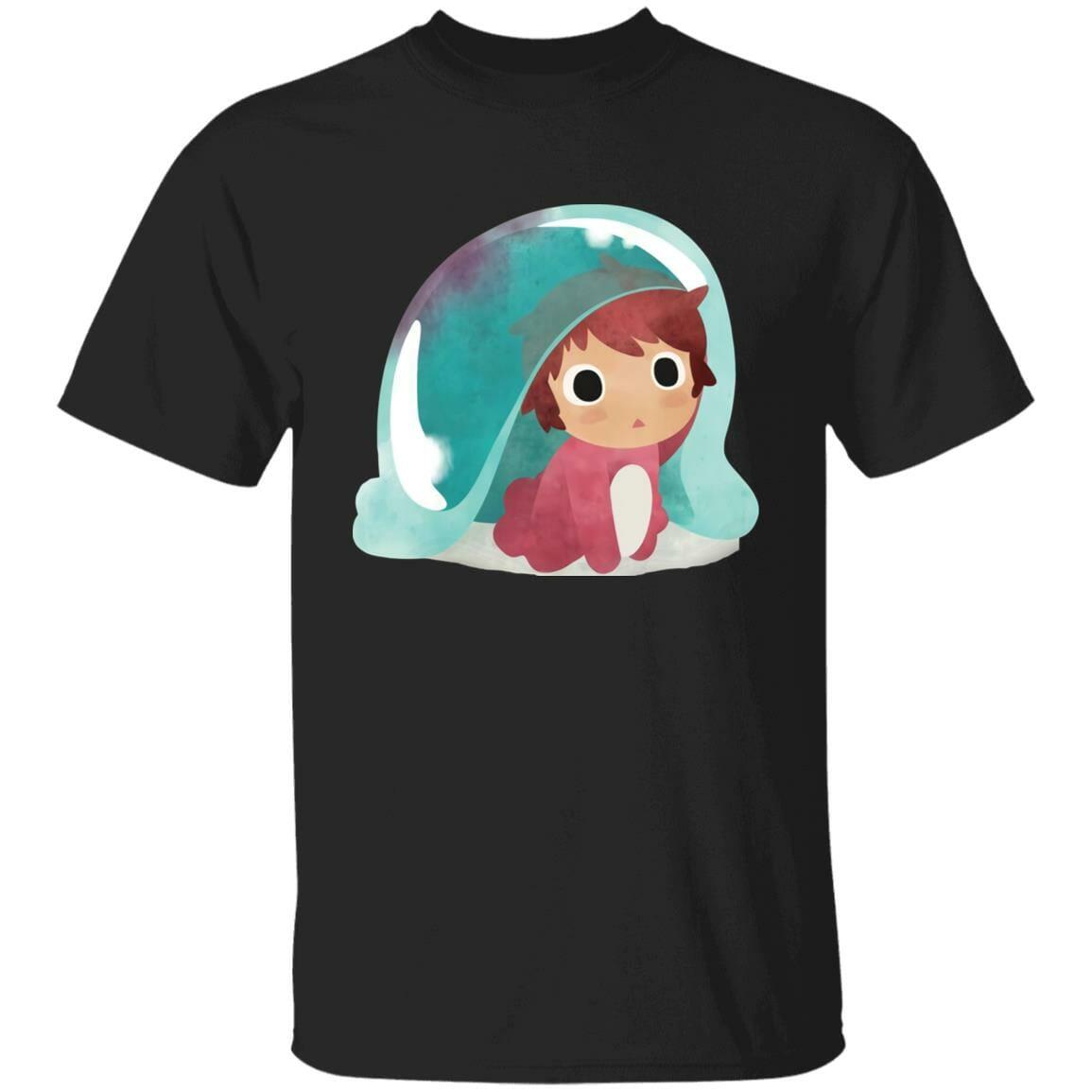 Ponyo Water Color T Shirt